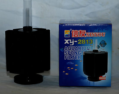 Air Driven Bio Sponge Filter 380L Aquarium Fish Shrimp Internal Filter XY-2813