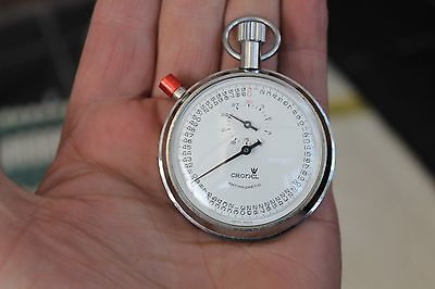 Vintage Cronel Stop Watch Antimagnetic Swiss Made