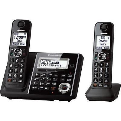 Panasonic Bluetooth Cordless Phone, Black KX-TGF342B