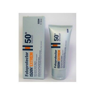 Protector solar Isdin Gel-Crema Extrem FPS 50+ 50 ml.