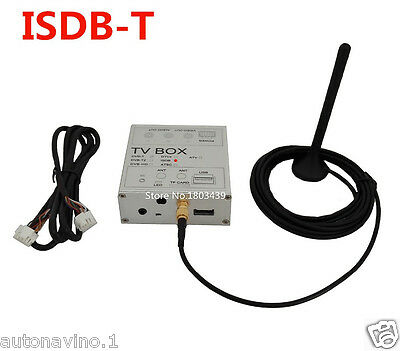 Car Digital TV Receiver Box ISDB-T For Brazil Chile South America Car DVD Player