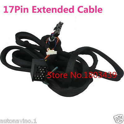 17-Pin Connector Special Extension Kit Cable For BMW E39 E46 E53 for KLYDE