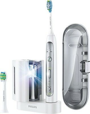 Philips Sonicare - FlexCare Platinum Electric Toothbrush with UV Sanitizer (Whit