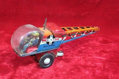 Old Vintage Antique Rare Helicopter Tin Toy Home Decor Collectible PR-93