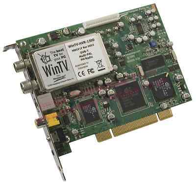Hauppauge WinTV HVR 1300 Analogue and Digital DVB-T TV-Radio Tuner PCI Card
