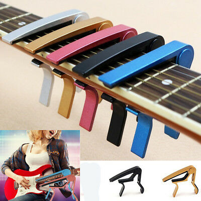 Guitar Capo Clamp For Electric and Acoustic Ukulele Guitar Quick Trigger Release