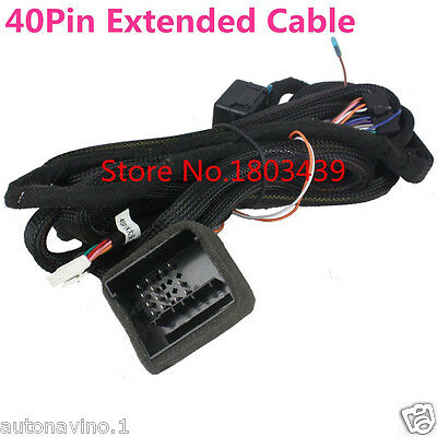40-Pin Connector Special Extension Kit Cable For BMW E39 E46 E53 for KLYDE
