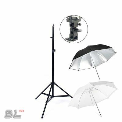 Professional Studio 2m Flash Light Stand Kit Flash Reflective Portable Speedlite