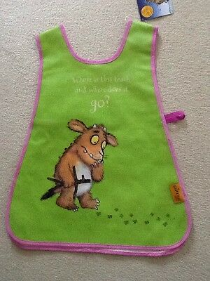 Gruffalo New Childs Tabard Wipe Clean Vinyl New With Tags.