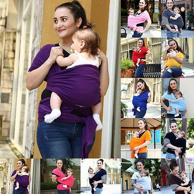 Baby Wrap Carrier Ring Sling For Newborn And Infant Nursing
