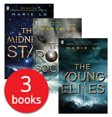 Marie Lu's The Young Elites Collection - 3 Books