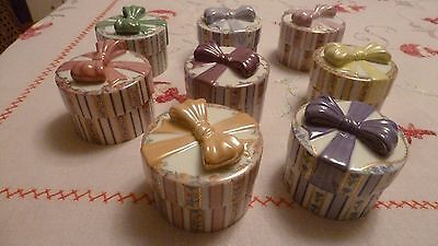 Musical Box Collection (a Mother's Love) by Bradford Exchange, set of 8