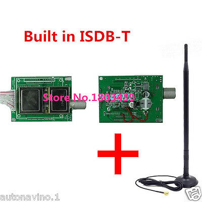 Built in ISDB-T Digital TV Module for my store Car DVD player Radio Stereo Navi