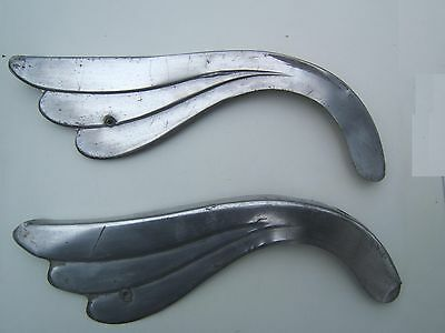 set of two nice aluminium chainguard 1945-55