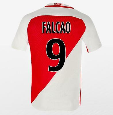 Monaco Home jersey FALCAO 9 for size Large
