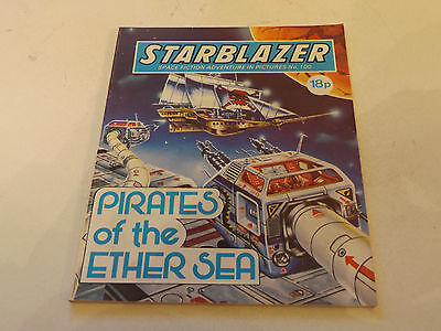 Starblazer Picture Library,no 100,1983 Issue,good For Age,very Rare Sci-Fi Comic
