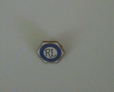 HALIFAX RL SUPPORTERS BADGE  .No 3 .1970s
