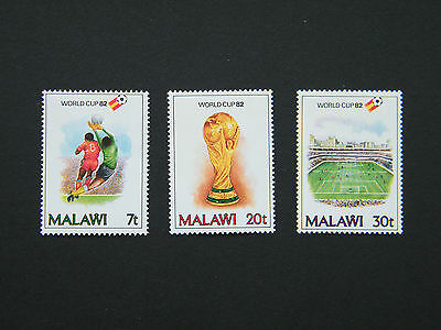 1982 Malawi Football World Cup Set. MNH.