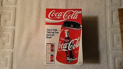 Coca-Cola Motion Activated Talking Can Savings Bank