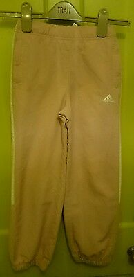Adidas joggers 8-9 years baby pink