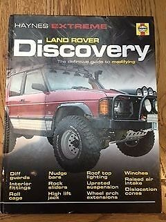 Haynes Land Rover Discovery 1&2 modification.
