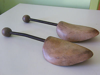 Vintage Pair Of Sprung Shoe Stretchers