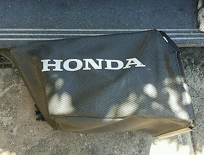 HONDA lawn mower Catcher frame and bag for lawnmower. Excellent condition