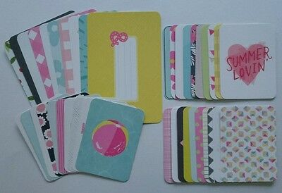 Project Life Dear Lizzy HAPPY PLACE Edition Partial Kit 6x4 3x4 Cards