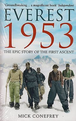Everest 1953 BRAND NEW BOOK by Mick Conefrey (Paperback 2013)