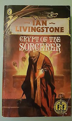 Crypt of the Sorcerer Ian Livingstone Puffin Role Playing Fighting Fantasy #26