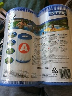Swimming Pool Filter A Intex Twin Pack New