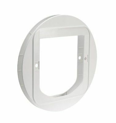 GLASS Mounting Adaptor for use with SureFlap Microchip CAT & DUAL SCAN CAT Doors