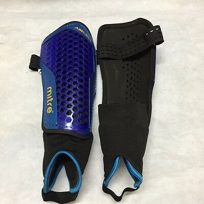 Mitre Aircell Carbon Shin Pads Purple Sizes X-Small To Large Bnib