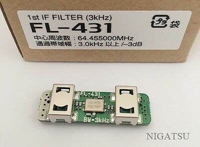 NEW ICOM FL-431 1st IF filter 3kHz for IC-9100 IC-7410 From JAPAN