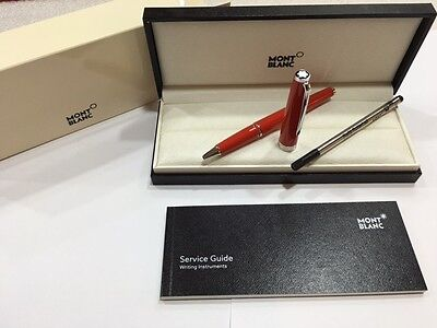 Montblanc Pix Collection Red Rollerball #114813 - New In Box