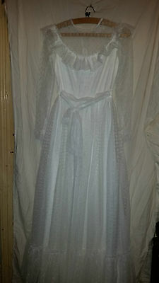 Lovely Vintage Retro ? Wedding/bridesmaid Dress 30 Chest Netted Type