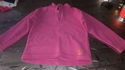 pull polaire quechua fille 6 ans comme neuf