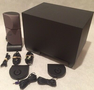 Altec Lansing ADA885 Computer Speakers THX Certified Home Theater Incomplete