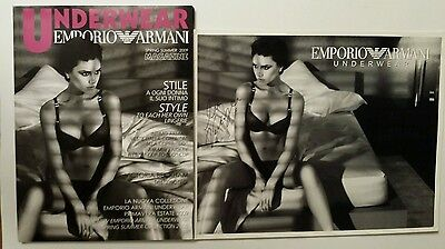 Victoria Beckham Armani Underwear Magazine and 8x10 Photo Possibly Signed 2009