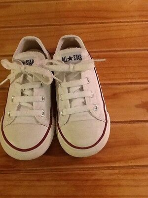 child converse trainers infant size 10