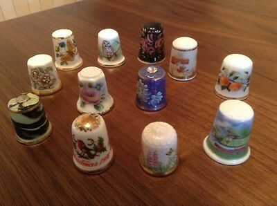Thimbles Collection of 12