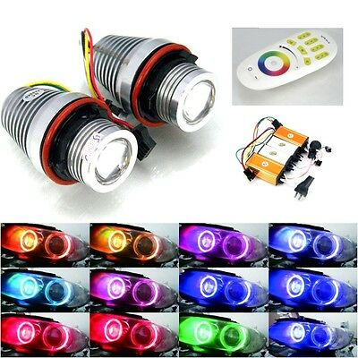 STL700 - LED Angel Eyes 30W MULTICOLOUR geeignet für BMW E87, E39, E60, E61,