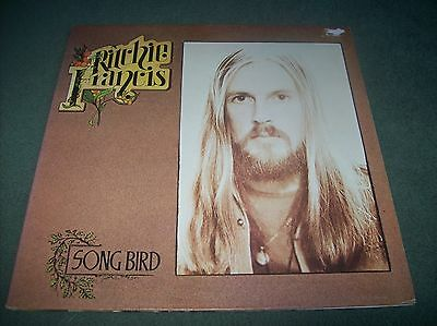Ritchie Francis - Song Bird LP first pressing UK issue from 1972 on Peg PEG 11
