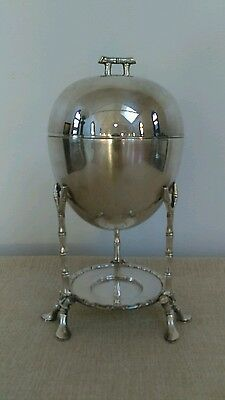 Vintage Silverplate/Silver Plate Bamboo/Aesthetic Egg Warmer/Coddler