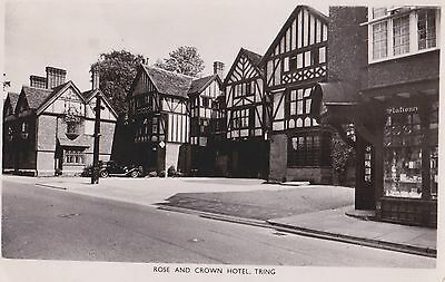 Old Postcard of Tring, The Rose and Crown, Hertfordshire