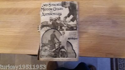 OriginaL TWO-STROKE- MOTOR CYCLES AND AUTOCYCLES DATE 1941
