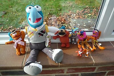 Muppets Collection Soft and plastic  Toys Superb!