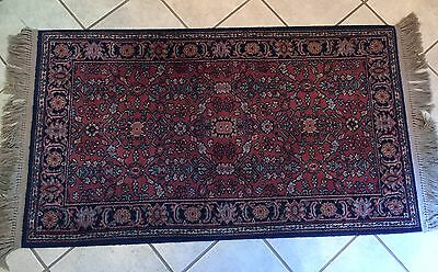 "Karastan Serapi #729 Wool Rug in Very Good Condition 35"" x 5'2"" Rectanglar Shape"
