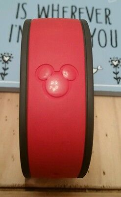 Walt Disney World Disney Magic Band Red Used Collectable 2016