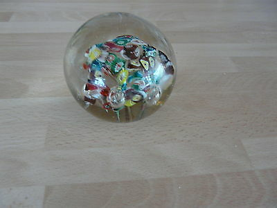 Antique Deco Paper Weight Beautiful Colours Mint Condition